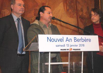 maire de de toulouse et président afrika31